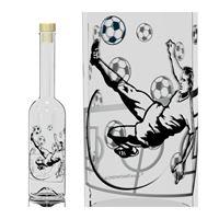 "500ml Opera-flaske ""Fodbold"""