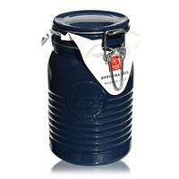 """1000ml pot avec fermeture mécanique """"Bormioli Seria 1825 Blue"""""""