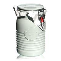 "1000ml pot avec fermeture mécanique ""Bormioli Seria 1825 White"""