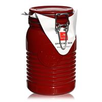"1000ml swing top jar ""Bormioli Seria 1825 Red"""