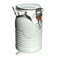 "1000ml swing top jar ""Bormioli Seria 1825 White"""