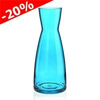 "1000ml glass carafe ""Stefano blu"""