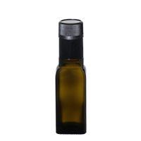 "100ml antiekgroene fles azijn-olie ""Quadra"" DOP"