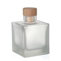 """100ml geeiste (mattierte) Flasche """"Cube"""""""
