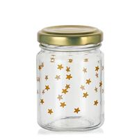 "106ml Christmas jar ""A Sky Full Of Stars"" gold"