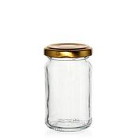 107 ml rund glasburk, hög