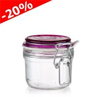 "125ml swing top jar ""Rocco Magenta"""