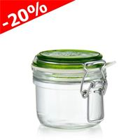"125ml swing top jar ""Rocco Verde"""