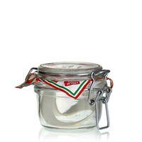 """125ml vasetto in vetro con chiusura meccanica """"Rocco"""""""