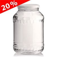 """1500ml universalt glas """"Santorini"""", med Twist Off 82"""