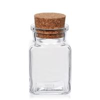 150ml rectangular jar with cork