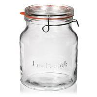 "2000ml vasetto in vetro con chiusura meccanica ""Lock-Eat"""