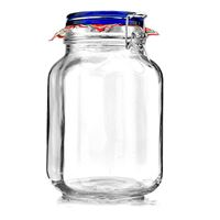 "2000ml swing top jar ""Rocco Blue"""
