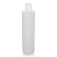 """200ml HDPE bottle """"Pipe"""" nature with dispensing tip"""