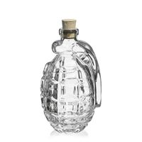 "200ml Klarglasflasche ""Handgranate"""