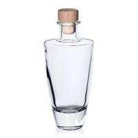 "200ml Klarglasflasche ""Vanessa"""
