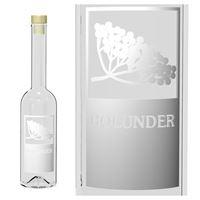 "200ml Nepera-Flasche ""Holunder"""