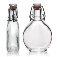 """200ml botella con cierre de brida """"Fin del Trabajo"""""""