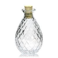 """200ml bouteille en verre clair """"Lucie"""""""