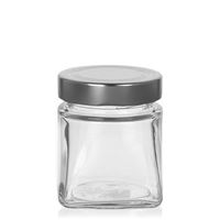 "212ml rectangular design jar ""Luxor"""