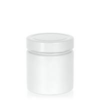 "220ml bianco vasetto in vetro designer ""Aurora"" bianco"