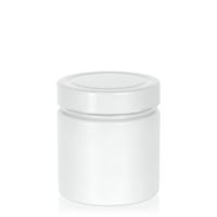 "220ml white design jar ""Aurora"", white"