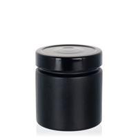 """220ml zwart designer pot """"Aurora"""" zwart"""