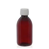 250ml PET-Flasche-braun