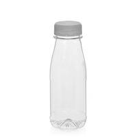 """250ml PET Weithalsflasche """"Milk and Juice"""" weiß"""