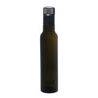 """250ml antiekgroene fles azijn-olie """"Willy New"""" DOP"""