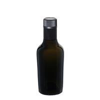 """250ml antikgrön olja/vinägerflaska """"Oleum"""" DOP"""