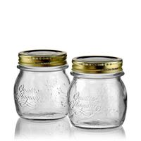 "250ml household jar ""4 seasons"", set of 2"