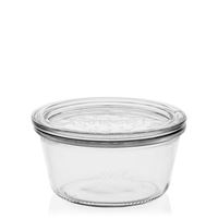 290ml WECK glasburk, platt