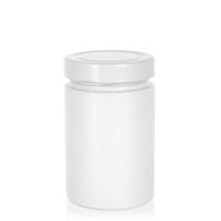 "327ml blanco vasetto in vetro designer ""Aurora"" bianco"