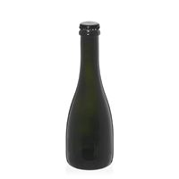 "330ml botella de cerveza verde antigua ""Tosca"" chapa negra"