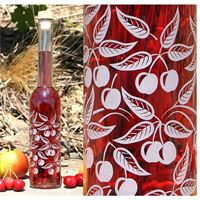 "350ml botella ""Cerezas"""
