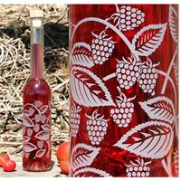 "350ml ""raspberry & blackberry"" bottle"