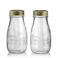 "400ml household jar ""4 seasons"", set of 2"