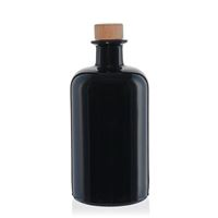 500ml Apothekerflasche aus Schwarzglas