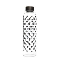 "500ml glass drinking bottle ""Black Whirlwind"""