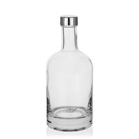 """500ml Klarglasflasche """"First Class"""" mit GPI-Verschluss"""