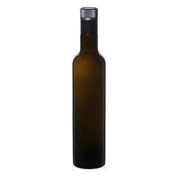 """500ml antiekgroene fles azijn-olie """"Willy New"""" DOP"""