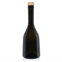 """500ml antikgrön flaska """"Rustica"""""""