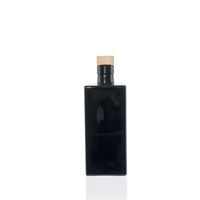 500ml botella de vidrio negro 'Rafaela'