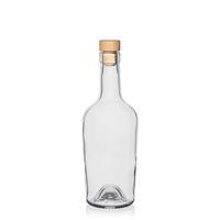 "500ml bouteille verre clair ""Marguerite"""