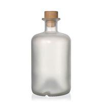 500ml geeiste (mattierte) Apothekerflasche