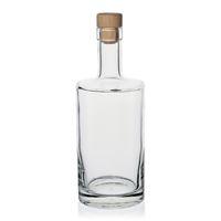 """500ml Klarglasflasche """"Homeland"""" mit Kork"""