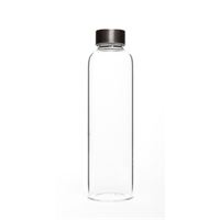 "500ml reusable glass drinking bottle ""Perseus"""