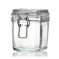 "500ml swing top jar ""Le Carre"""