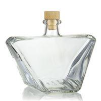 """500ml Bottiglia in vetro chiaro """"Charly"""""""